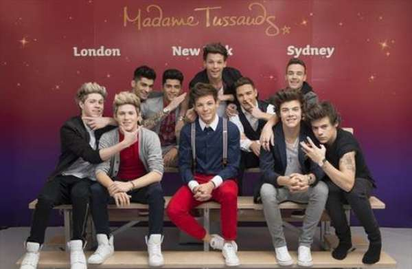 One-Direction al Madame Tussauds