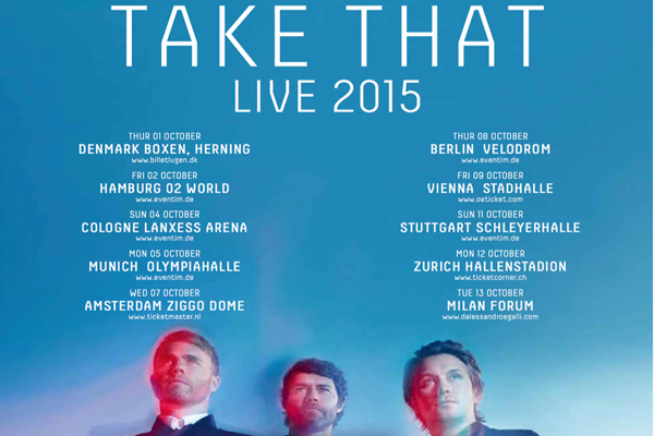 Take That in concerto a Milano