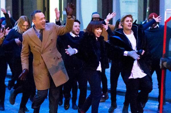 Justin Bieber Tom Hanks jepsen