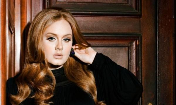 Adele-In-Black-Dress
