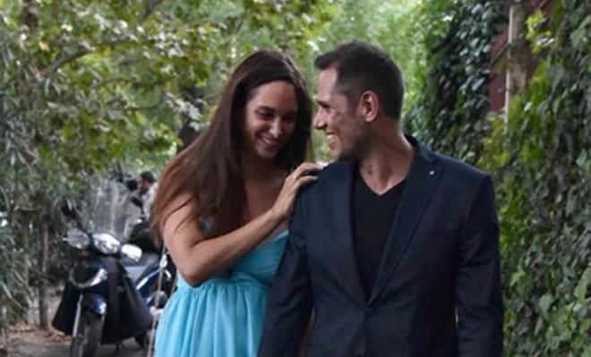 Attilio Fontana con la fidanzata Clizia Fornasier
