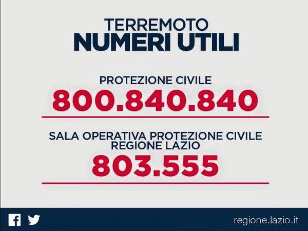Terremoto Centro Italia: la solidarietà dei cantanti