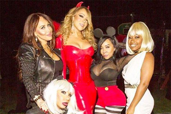 Mariah Carey: Halloween con i figli e l'ex marito