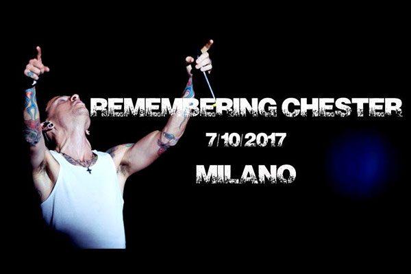 Remembering Chester Bennington: a Milano il 7 ottobre in Piazza Duomo