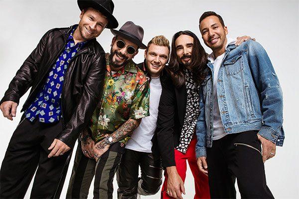 """Backstreet Boys il ritorno """"La musica nuova è vita!"""